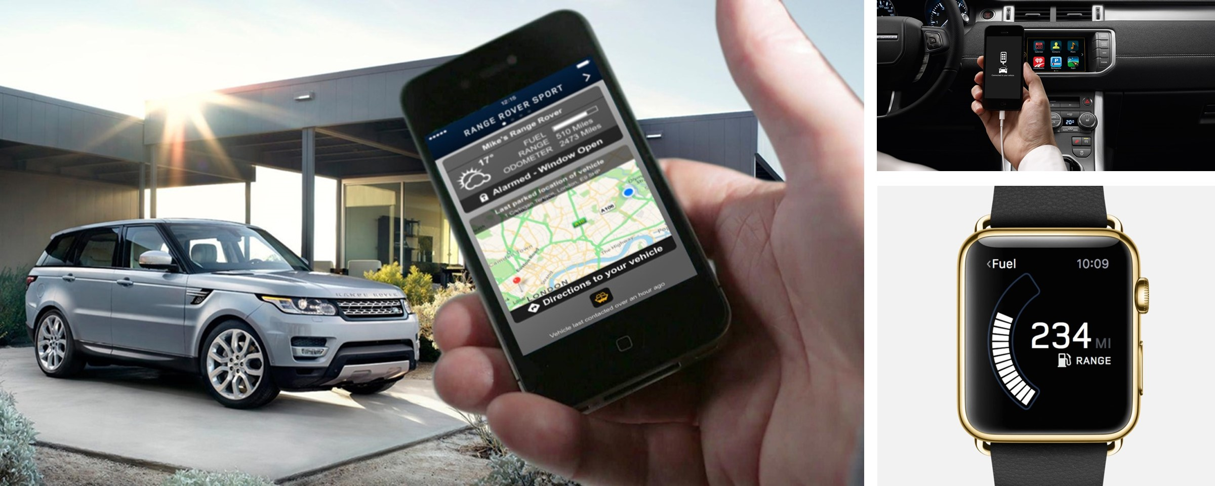 Land Rover s InControl App Merges Smartphone Technology with the SUV