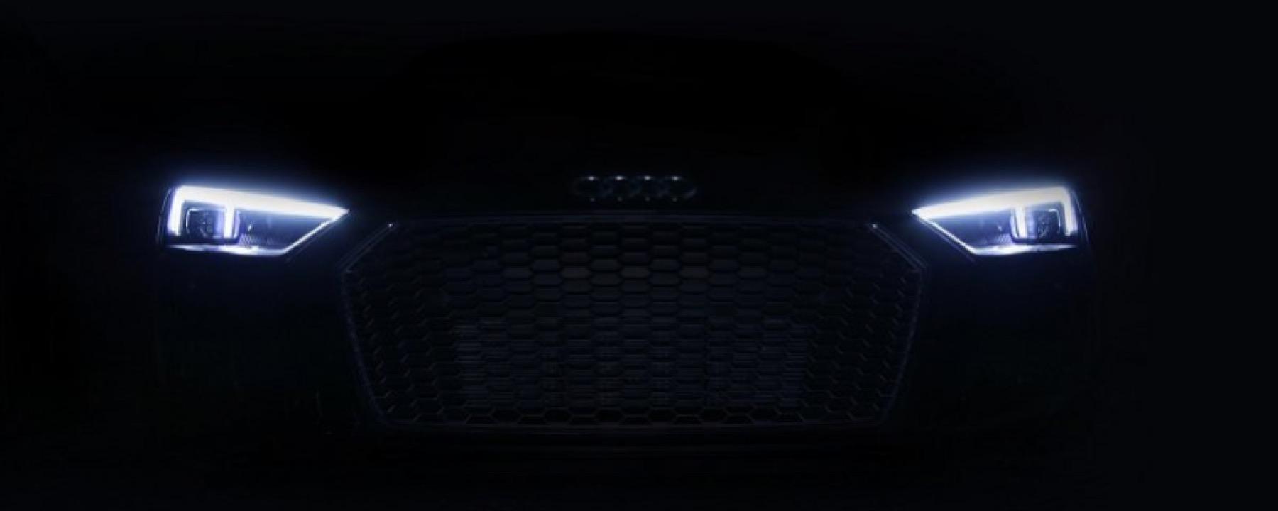 Audi Announces New Laser Lights IndiGO Auto Group Blog - Car laser light show