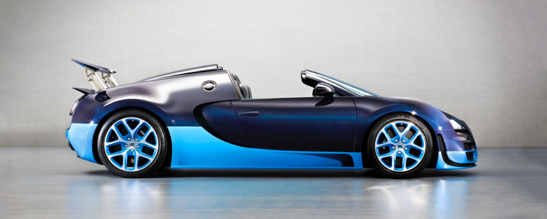 Bugatti Veryon Fastest Roadster In The World Indigo