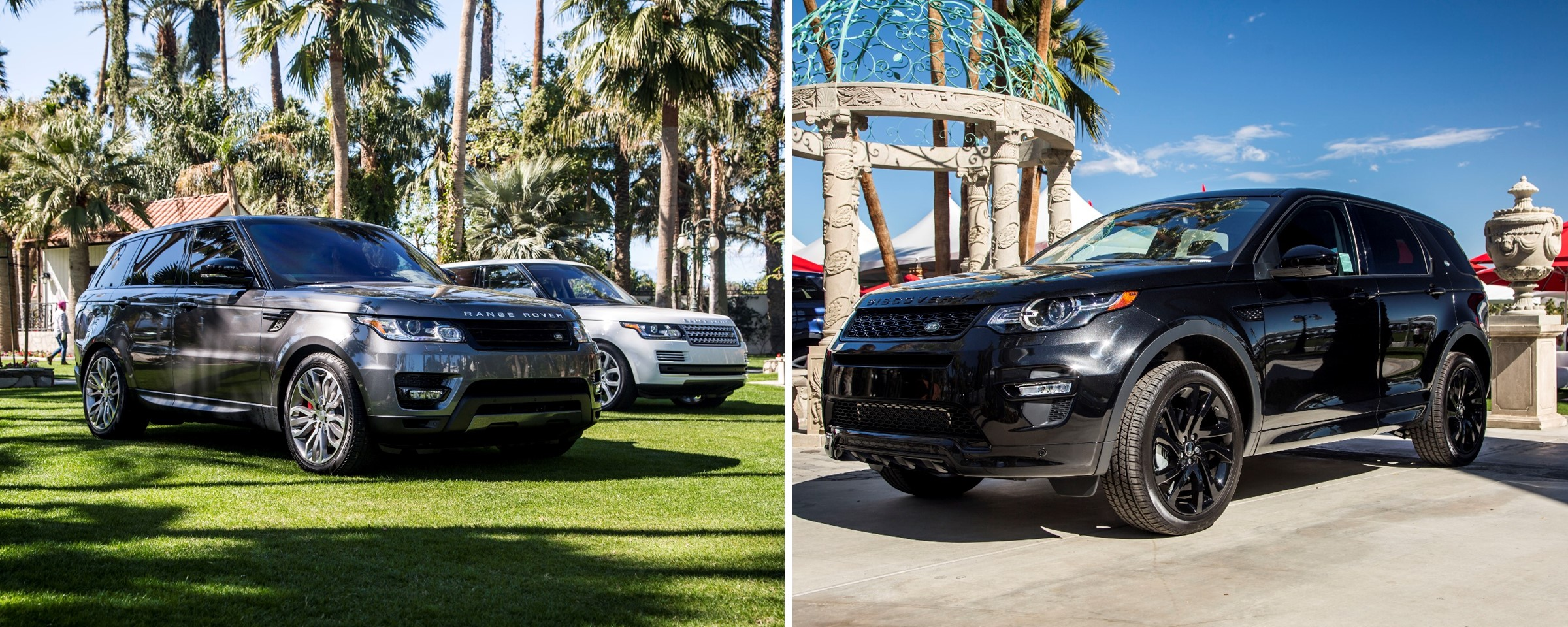 Land Rover Rancho Mirage Showcases New Models At Empire
