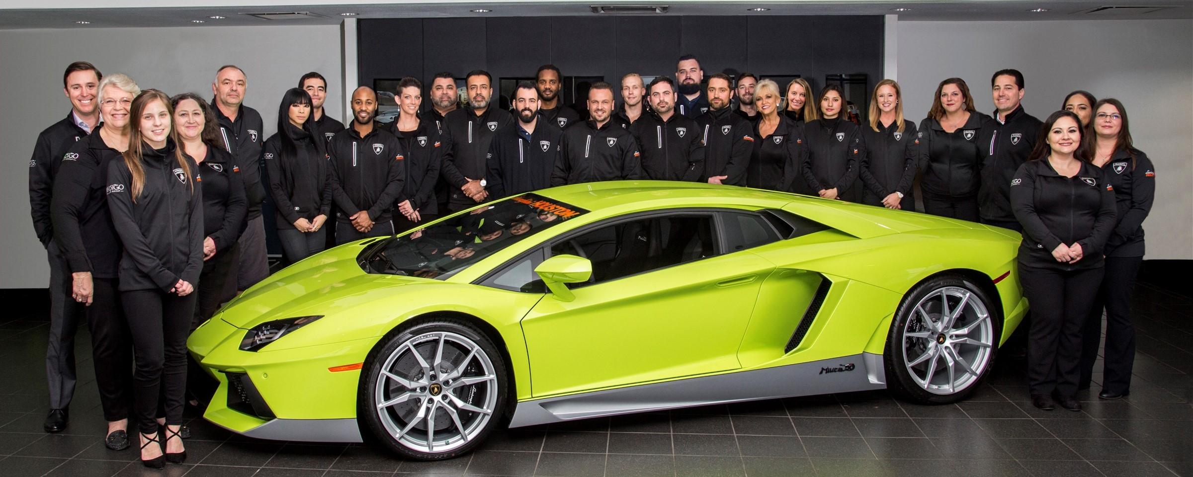 Bravo To Lamborghini Houston For A 1 Ranking Indigo Auto Group Blog