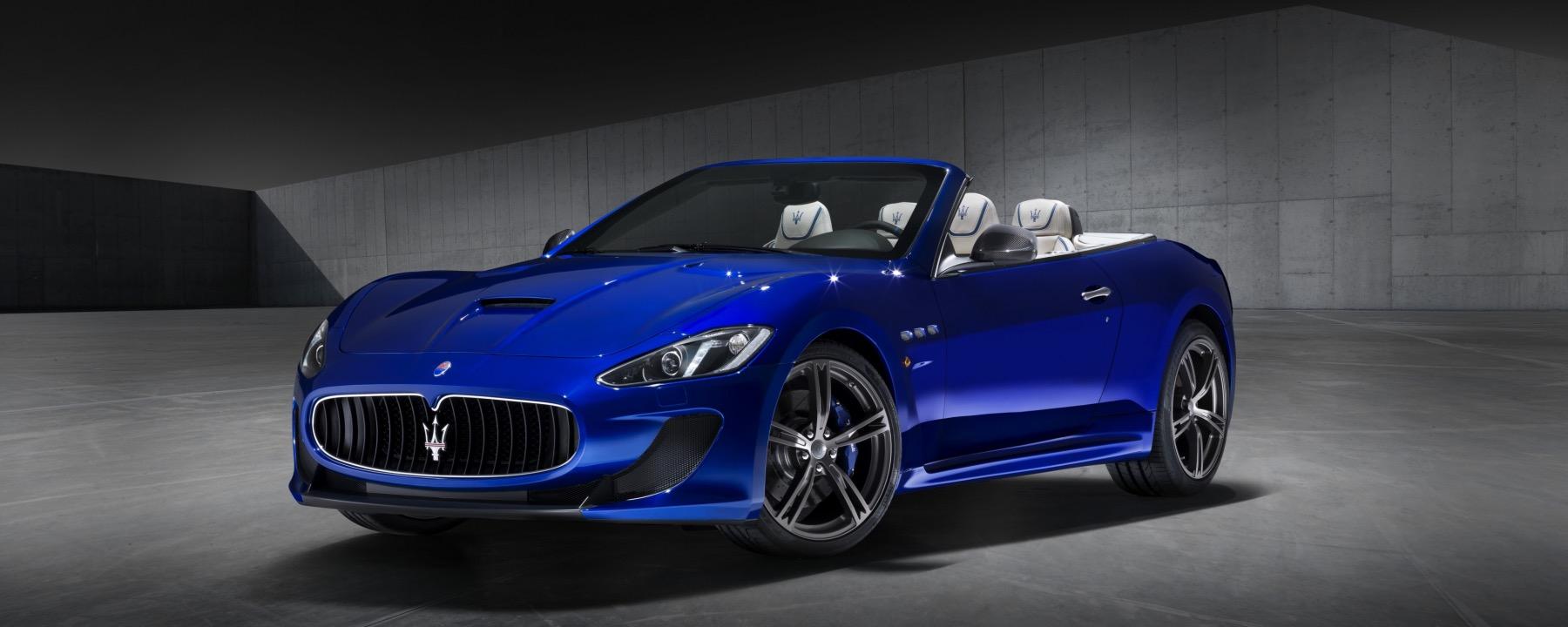 2017 Maserati Granturismo Mc Centennial >> The Maserati GranTurismo Convertible MC Centennial Edition - indiGO Auto Group Blog