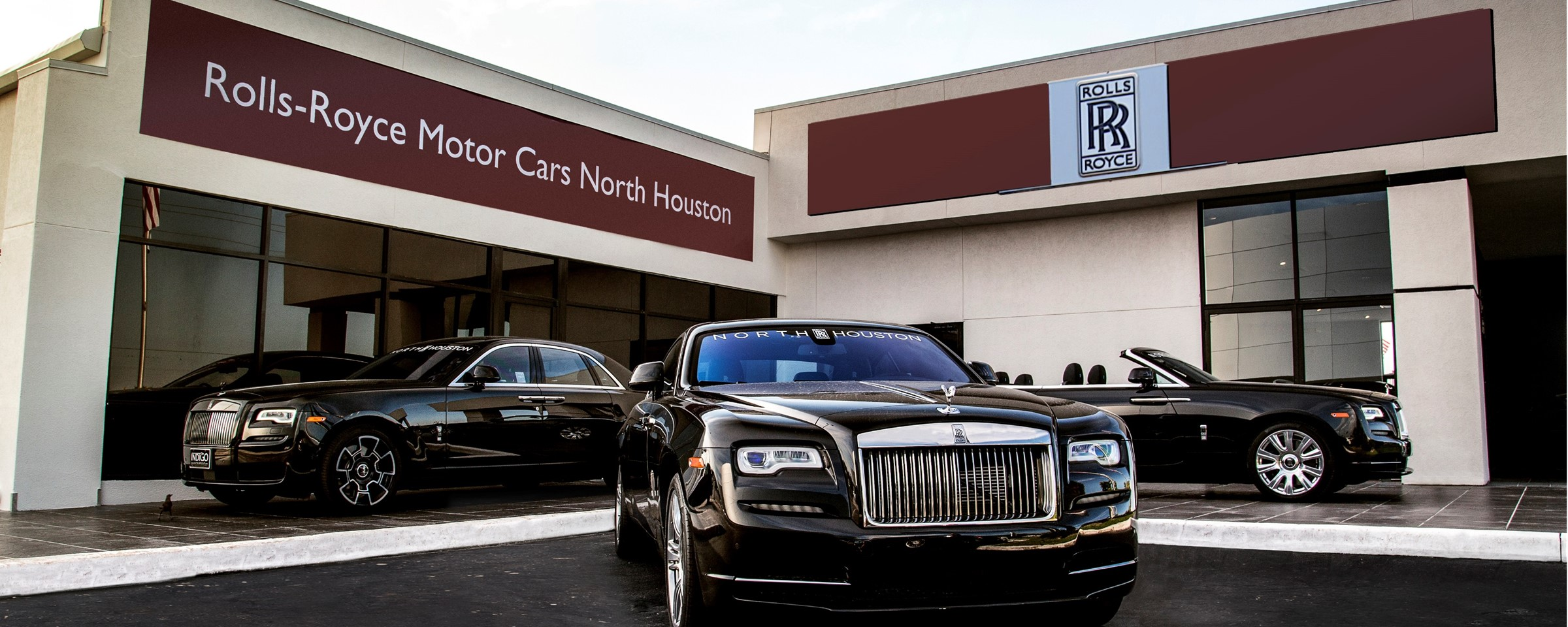now open rolls royce motor cars north houston indigo