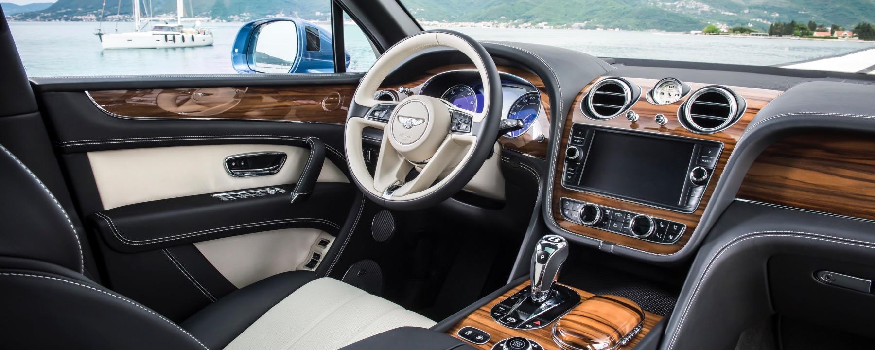 Land Rover Rancho Mirage >> Bentley Introduces New Veneer Option: Liquid Amber ...