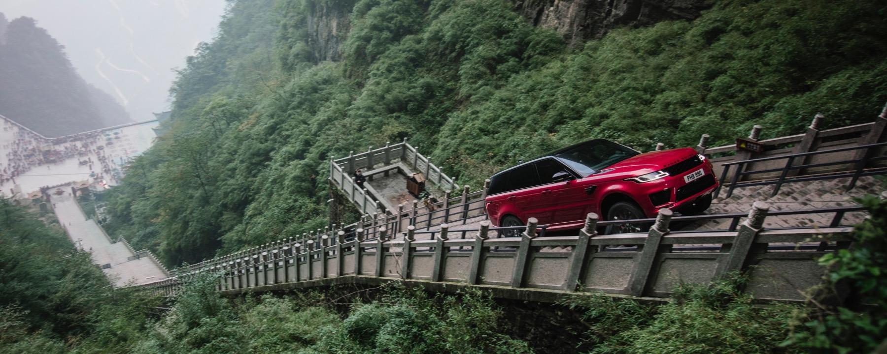 Land Rover Houston North >> Land Rover Climbs Heaven's Gate - indiGO Auto Group Blog