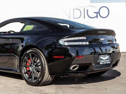 2017 Aston Martin V12 Vantage S In Rancho Mirage Ca Indigo Auto Group