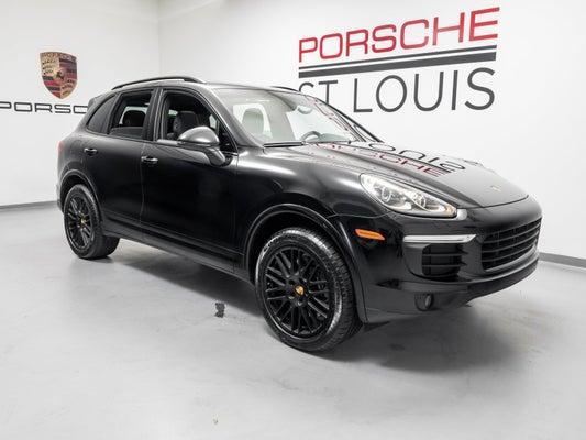 2017 Porsche Cayenne Platinum Edition In Rancho Mirage Ca Indigo Auto Group