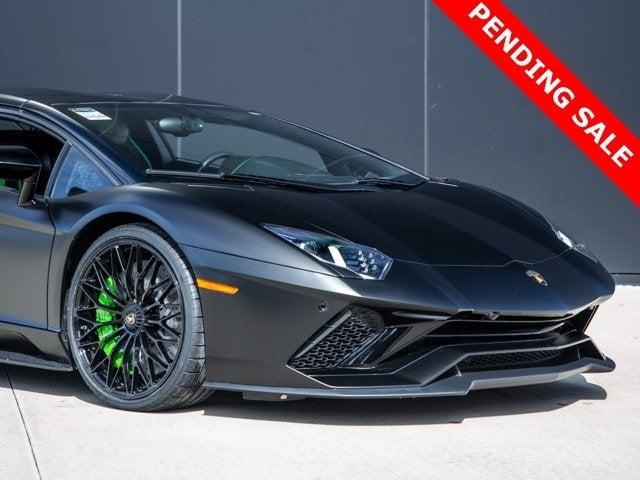 2018 Lamborghini Aventador S Roadster Black $ 417,991 , Can You Lease A Used Car